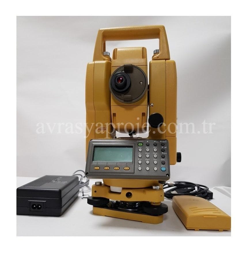 kiralık ölçüm cihazı topcon reflektörsüz total station erzurum